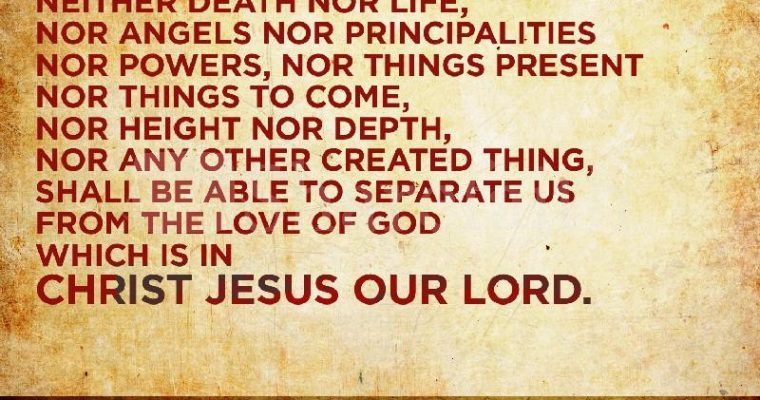 Nothing Shall Separate Us…
